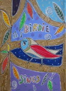 Birdie sings
